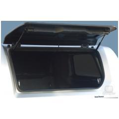 RH3 Profi 900404 odklopné laminátové boční dveře - otevřené